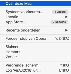 over deze mac