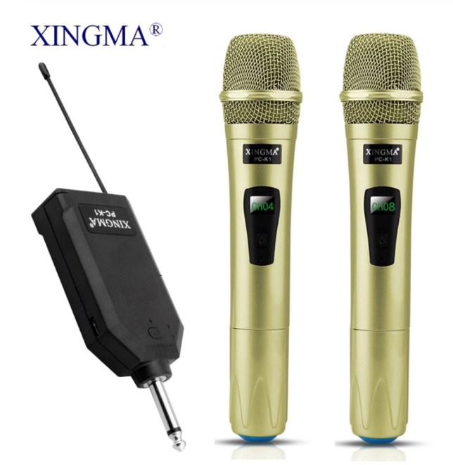 draadloze microfoons zender VHF