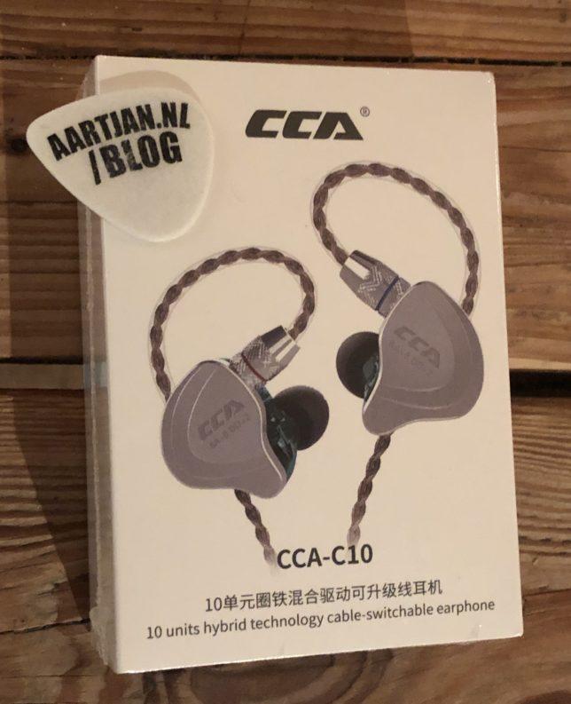 CCA C10 review hands on verpakking