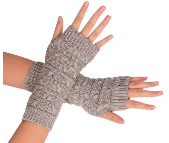 wanten zonder vingers warme handen handschoenen
