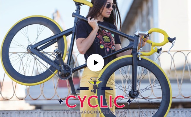 cyclic review carbon fiets goedkoop