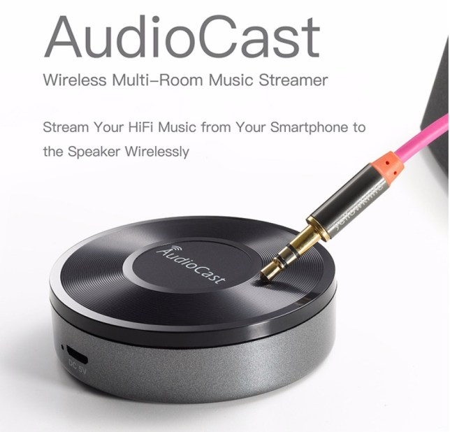 airplay audio draadloos multi room ontvanger