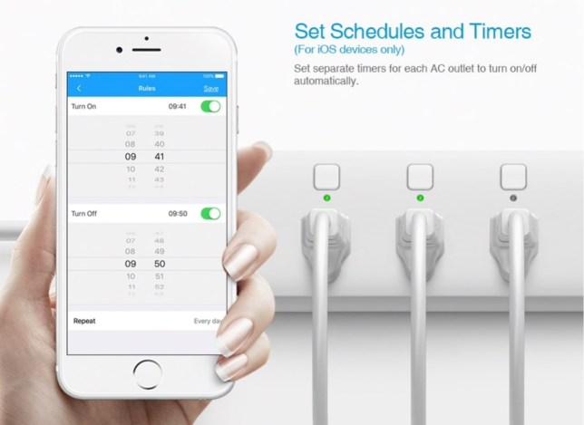 smart home elektriciteit stroomstekkers met USB wifi en timer
