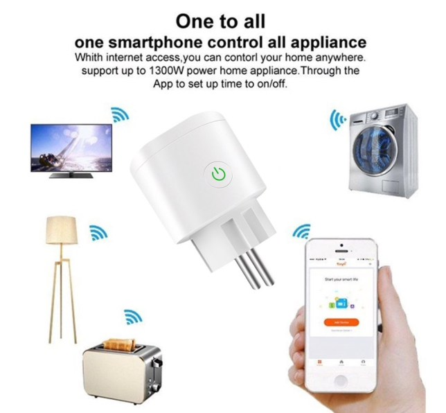smart home wandcontact wifi