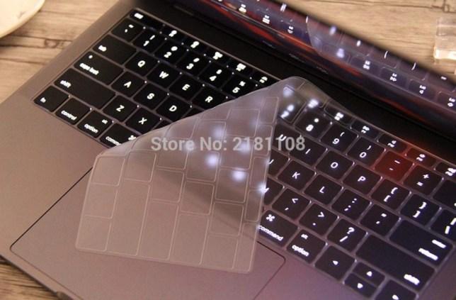 transparante toetsenbord cover siliconen