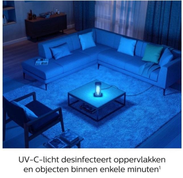 UV-C lamp Philips desinfecterend