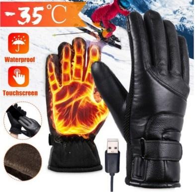 handschoenen met elektrische verwarming