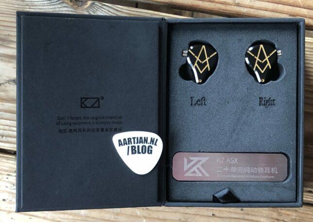 KZ ASX review: verpakking KZ Nederland