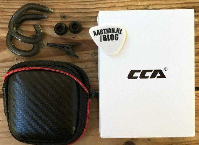 CCA CA16 review: Je krijgt veel gratis extra's
