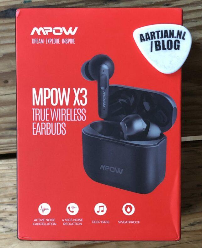 MPOW X3 review: de beste TWS earbuds met ANC