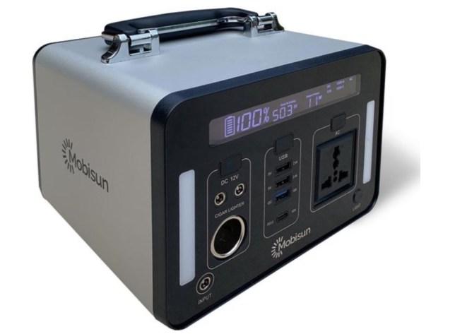 portable power station met mppt en pure sinus