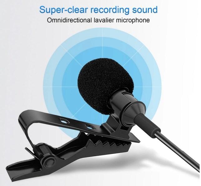 boya wireless lapel microphone