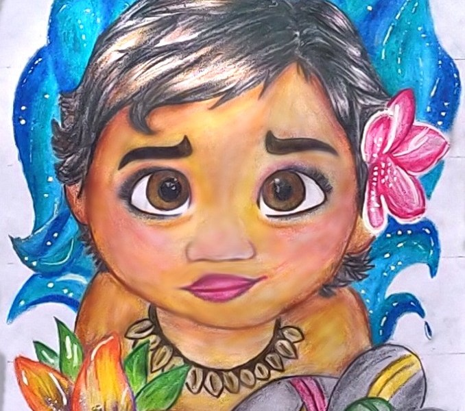 Moana Drawing