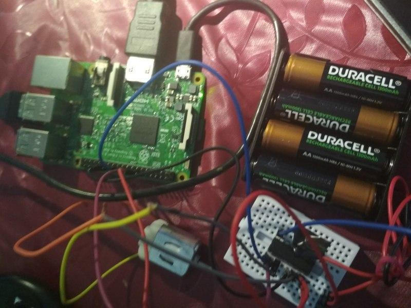 Raspberry Pi: DC Motor Control