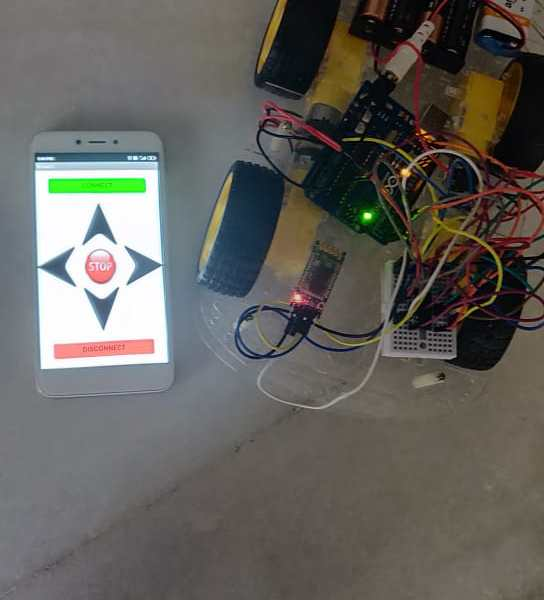 Arduino: Project 33: Bluetooth Controlled Robocar!