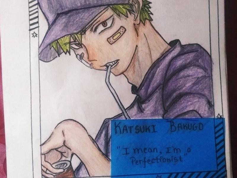 Katsuki Bakugo Sketch