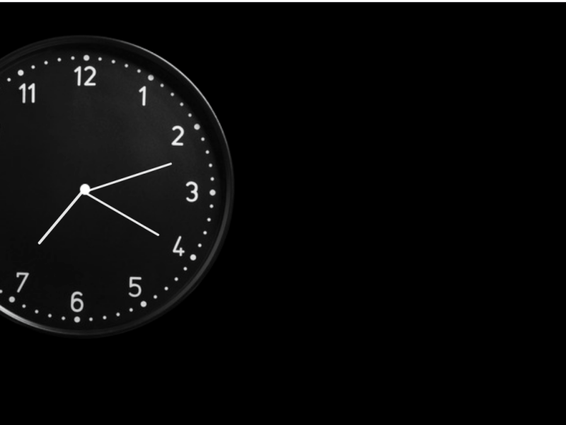 Web Dev Project 6: Analog Clock