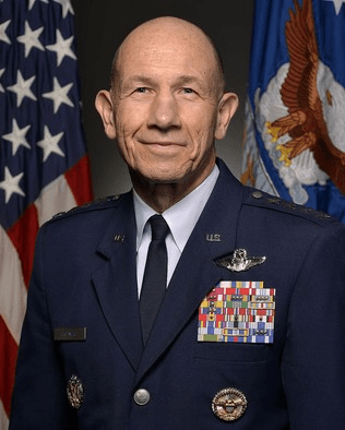 General James M. Holmers, Commander of Air Combat Command