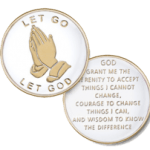 Let Go Let God Medallion