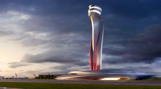 Air Traffic Control tower