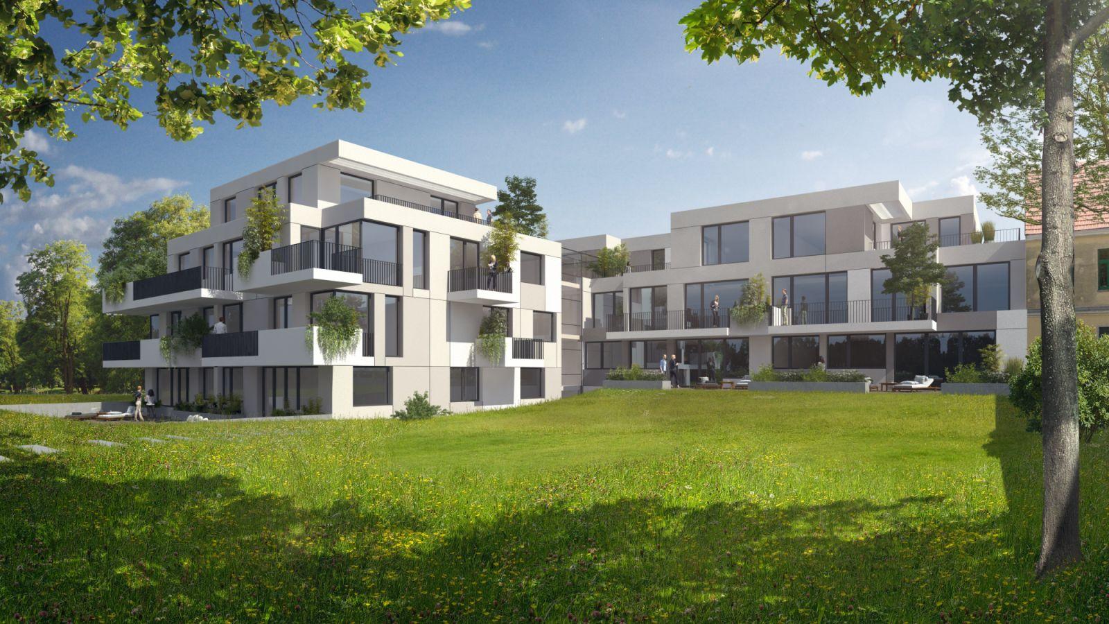 Am Platz Residential building