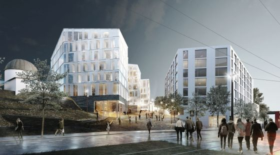 new Energy and Technology building to Bergen