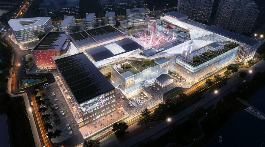 Nanjing industrial site