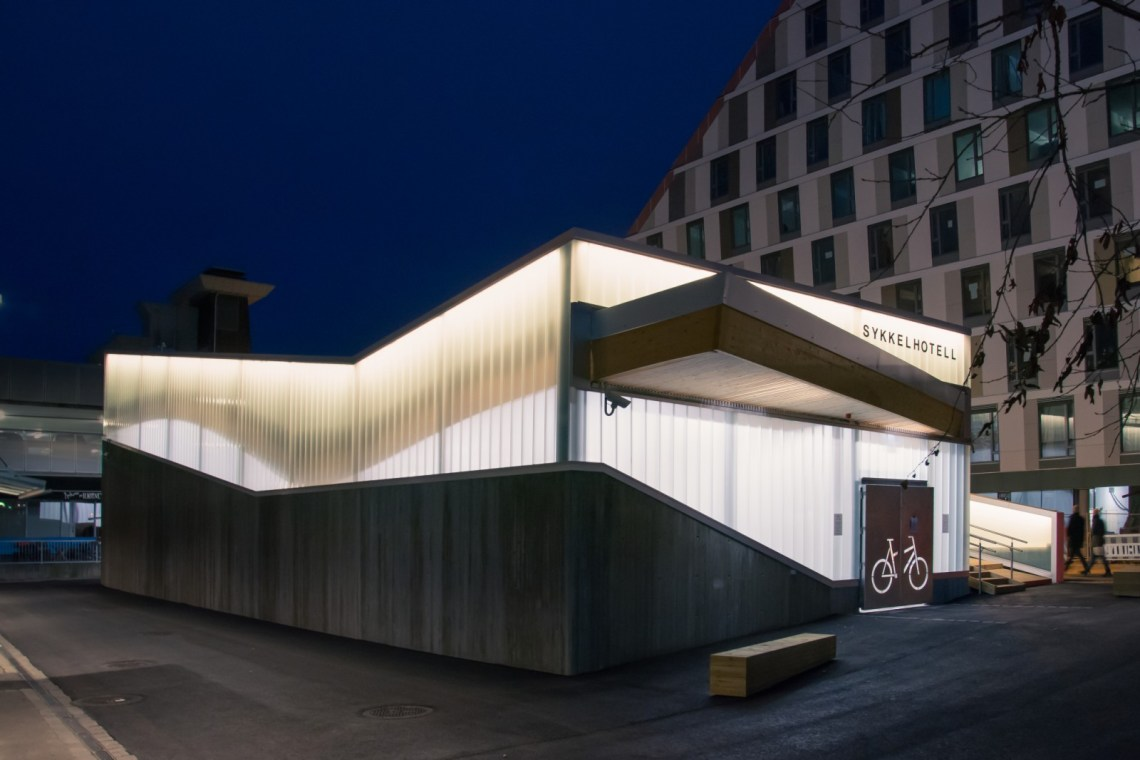 Bicycle Hotel Lillestrømby