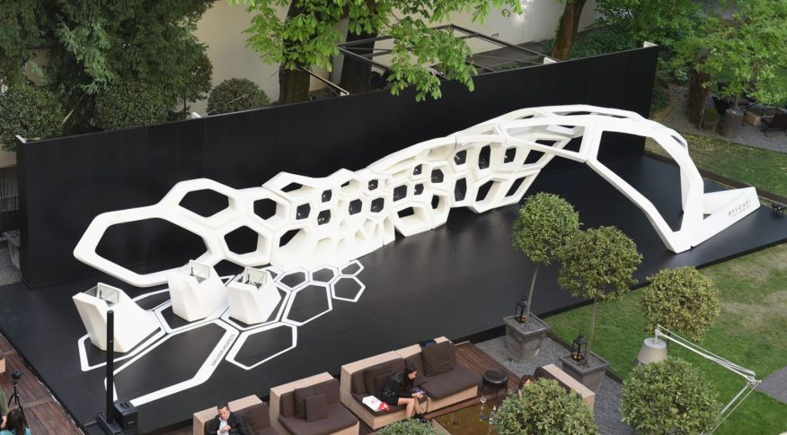Serpenti installation