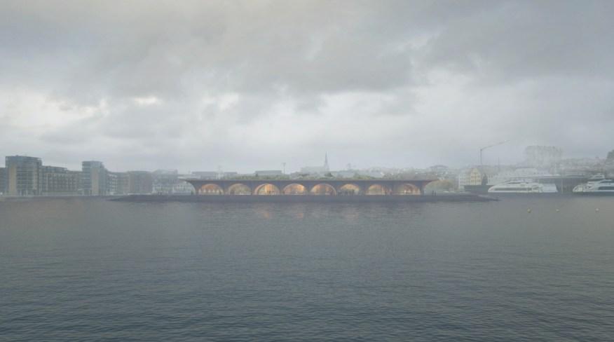 ernacular visitor center in Stavanger