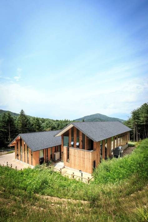 CeongTae Mountain's Visitor Information Centre