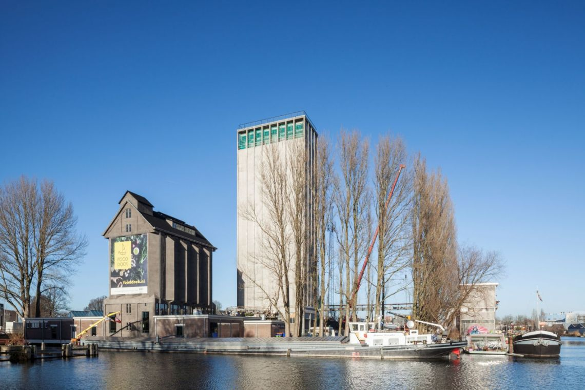 Conversion of de Zwarte Silo