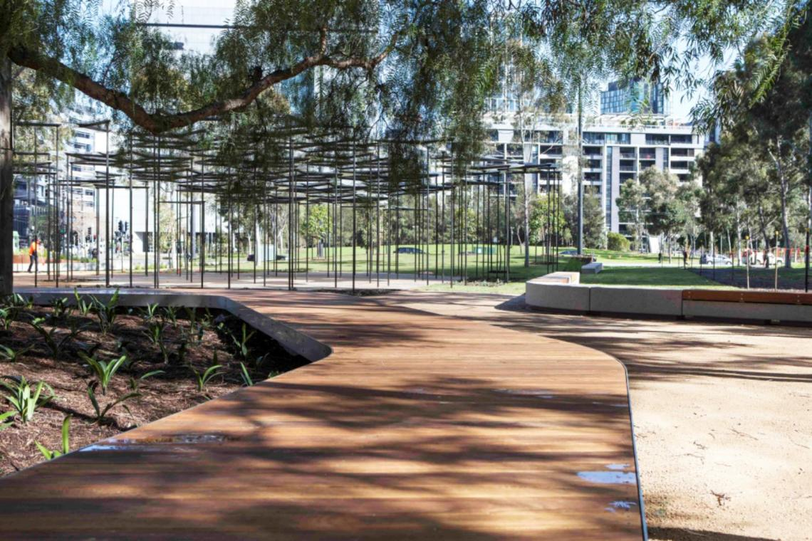 Docklands City Park - Stage 1