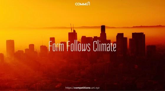 Form Follows Climate