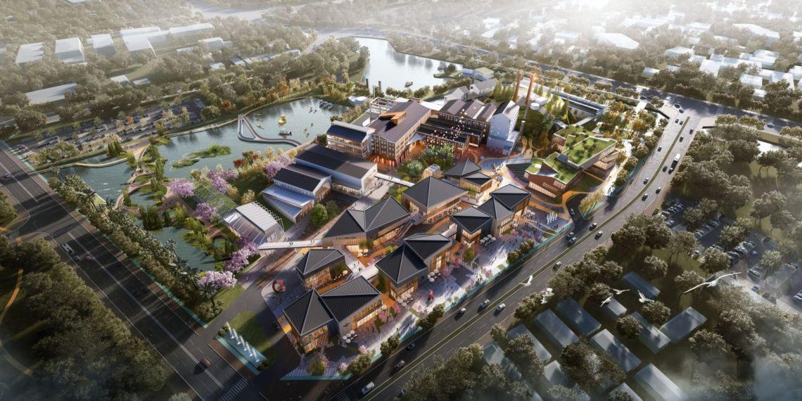 Hongqi Zhen Sugar Factory Town