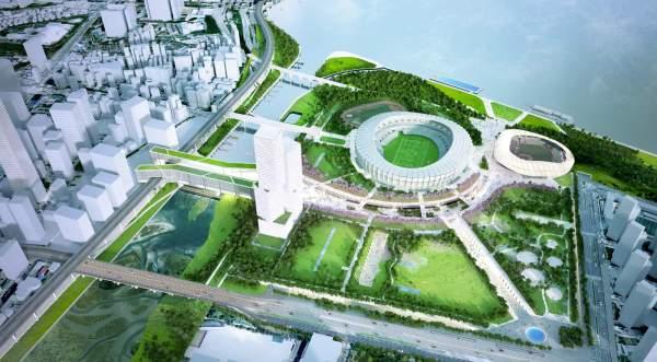 Synchronicity Wins Urban Regeneration Of Jamsil Sports