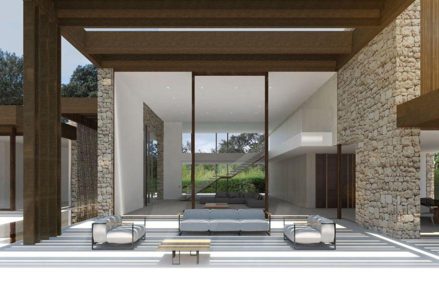 La finca house by ramon esteve - Recibidores de casas modernas ...