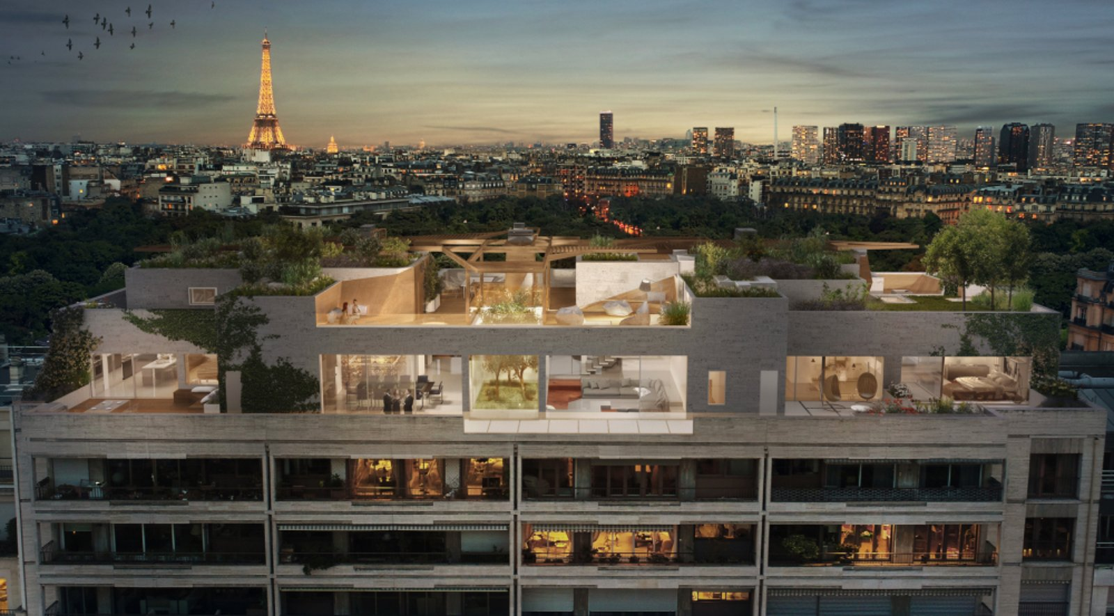 La For 234 T Urbaine By Matteo Cainer Architects