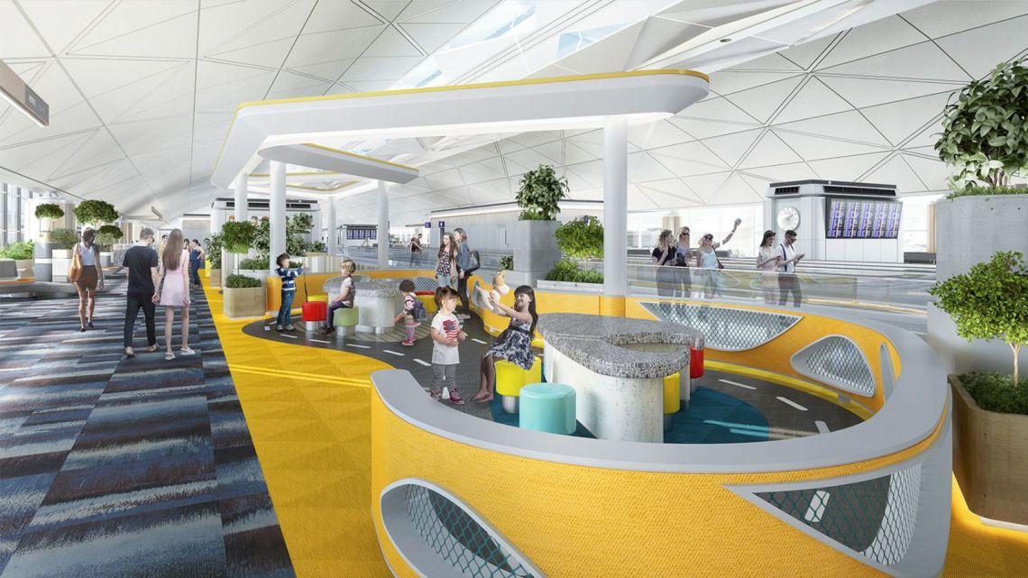 Hong Kong International Airport T1
