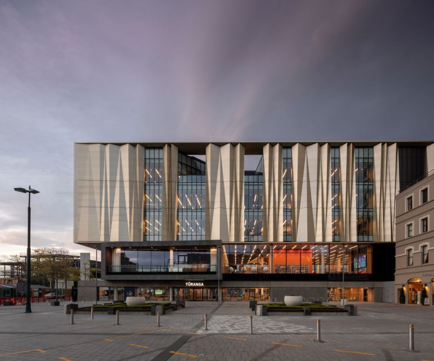 Christchurch central library