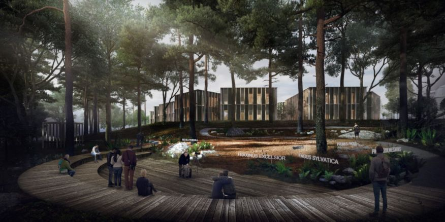 New administrative centre of the Czech Forestry