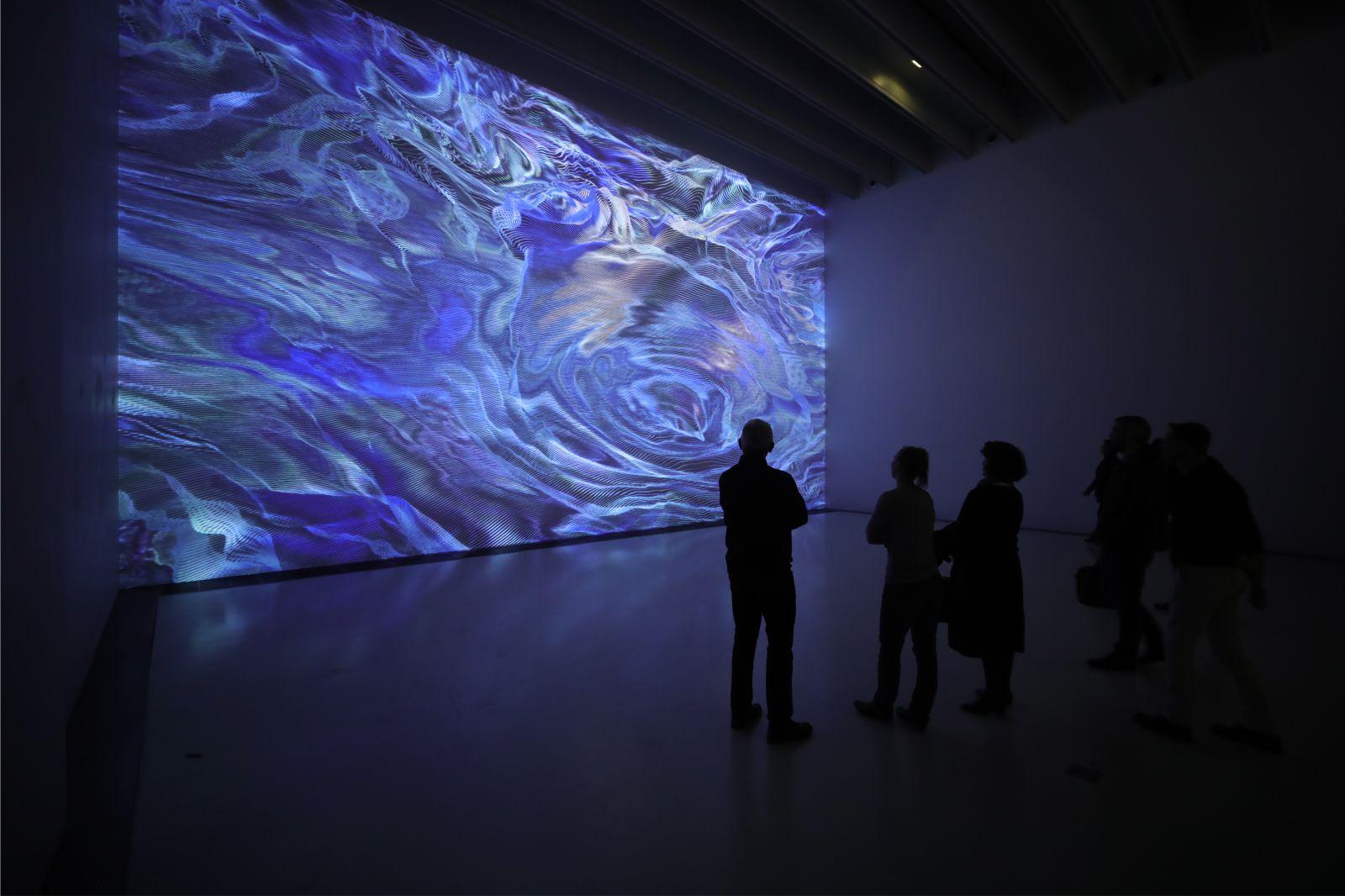 Pixels Noir Lumiere 2019 By Miguel Chevalier 03