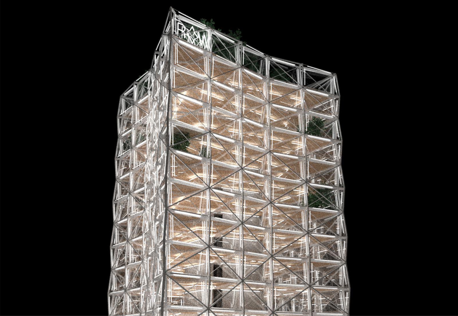 RAW tower