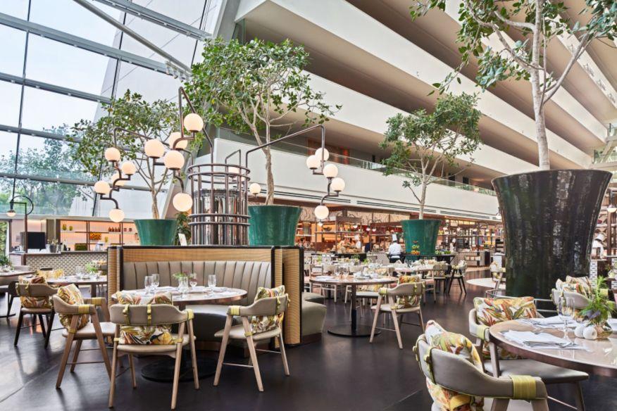 RISE Restaurant at Marina Bay Sands