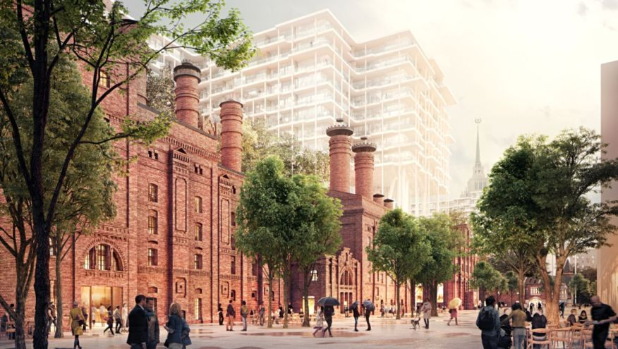 Redevelopment of historic Brewery