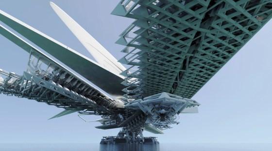 Solar Sail bridge