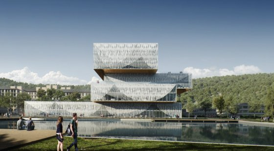 Student Centre & Library for Wenzhou-Kean University