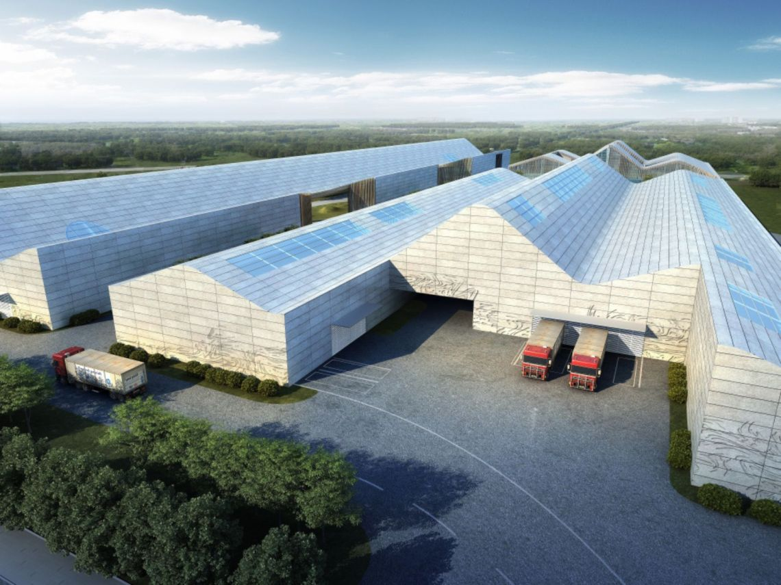 Sichuan International Glass Art Factory & Innovation Centre