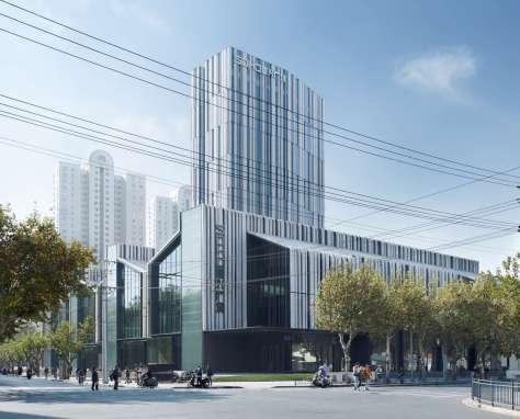 soho fuxing lu shanghai by gmp architekten. Black Bedroom Furniture Sets. Home Design Ideas