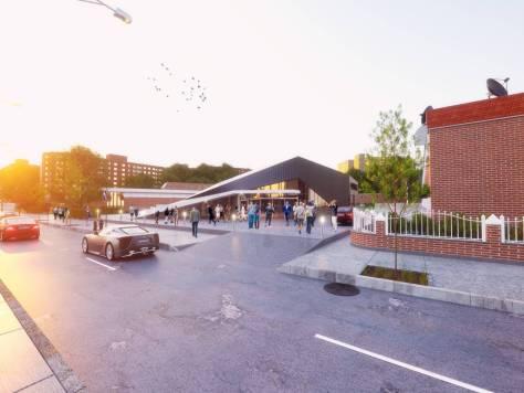 St Laurence Rc Church New Parish Center By Urban Office Architecture - Aviators villa urban office architecture
